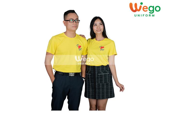 áo đồng phục màu vàng- xu hướng của năm 2020-3