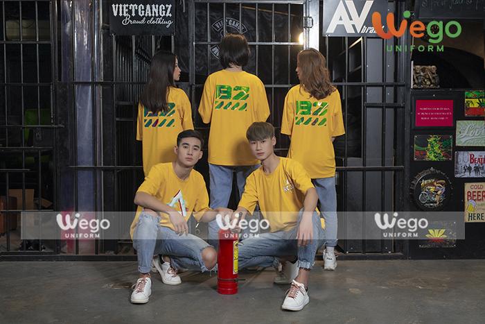 áo đồng phục màu vàng- xu hướng của năm 2020-5