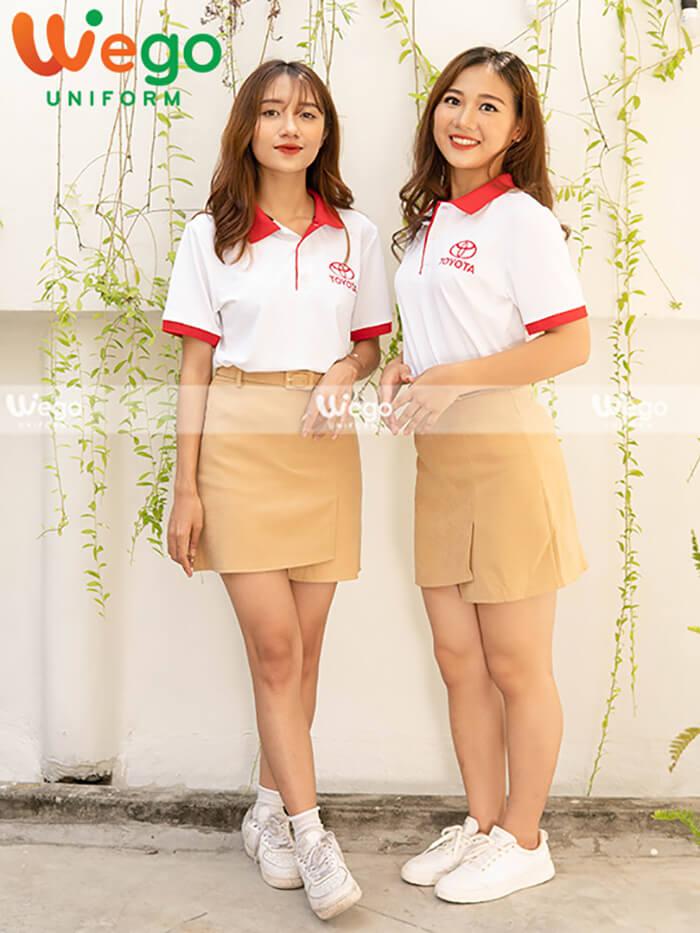 Áo phông đồng phục Công ty Ô Tô Toyaya Việt Nam