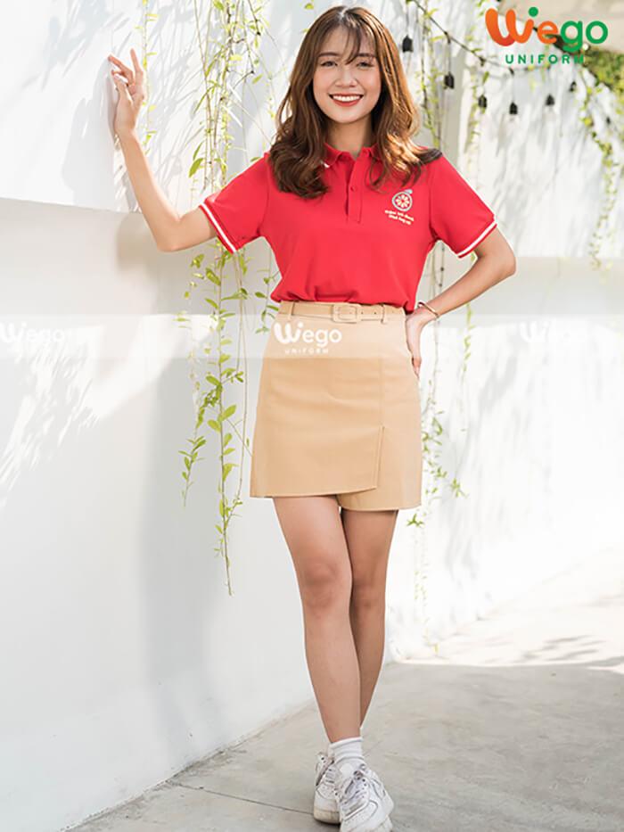 Áo phông đồng phục tiệm Trà Chanh Ông Nội