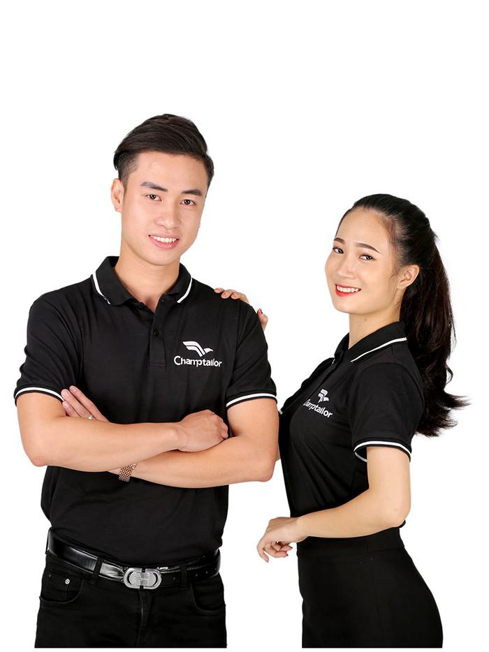 Áo phông đồng phục đẹp công ty Champtailor