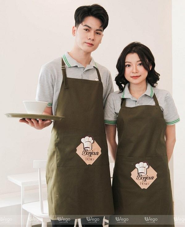 đồng phục của nhà hàng Bonjour Reso