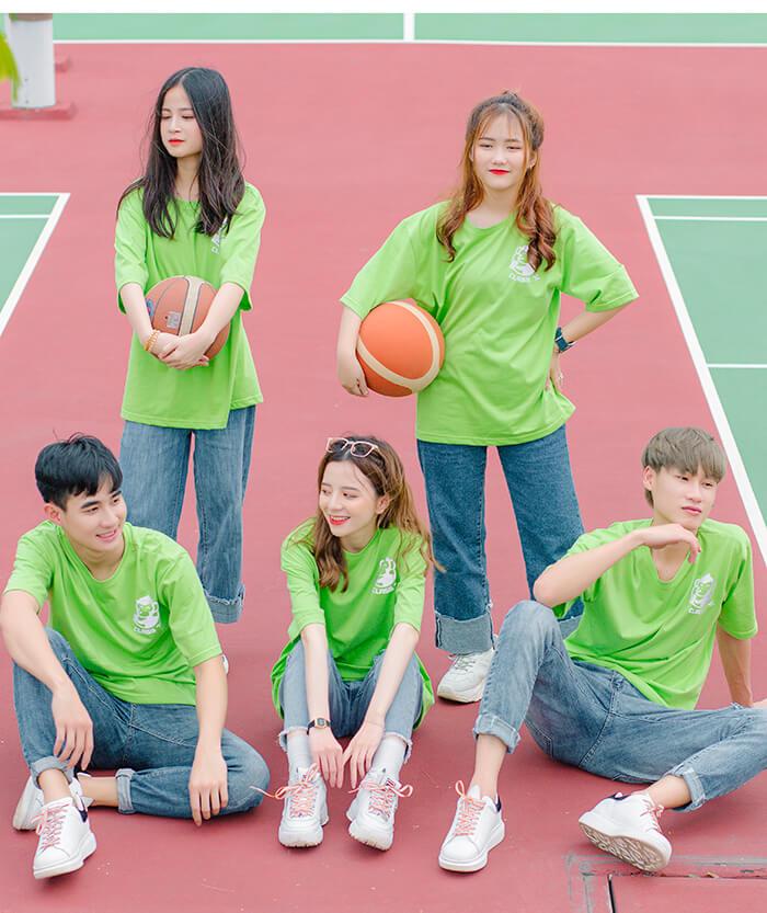 Áo đồng phục xanh lá