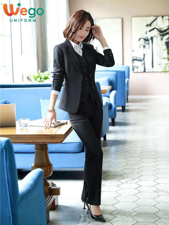 Đồng phục vest công sở nữ DPV006