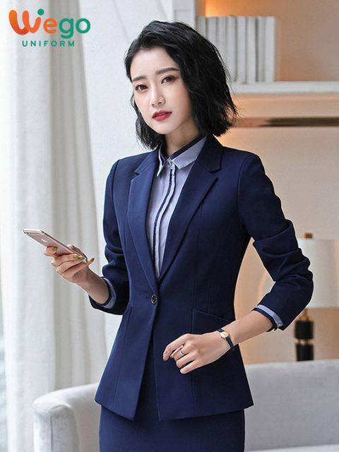 Đồng phục vest công sở nữ DPV005