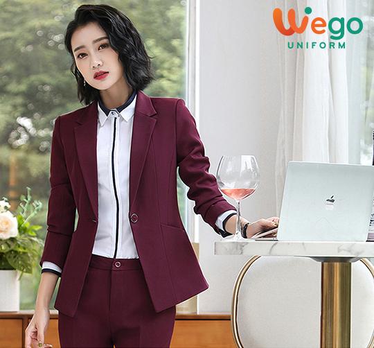 Đồng phục vest công sở nữ DPV005 đẹp