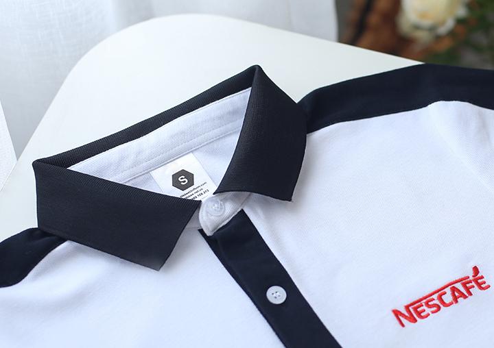 Chi tiết Áo thun phông đồng phục Nescafe