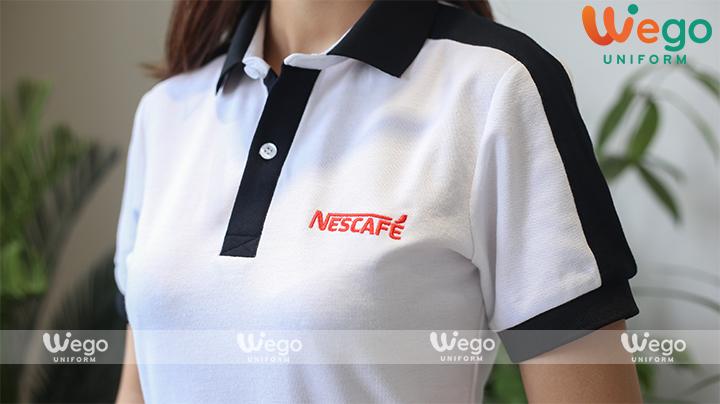 Áo thun phông đồng phục Nescafe